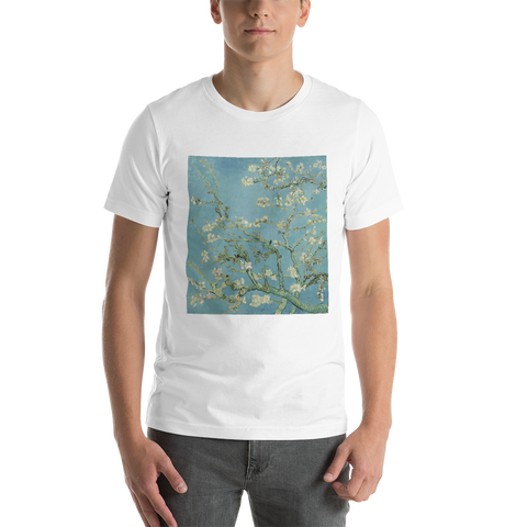 Almond-Blossoms-Cotton-Art-Tee-For-Men