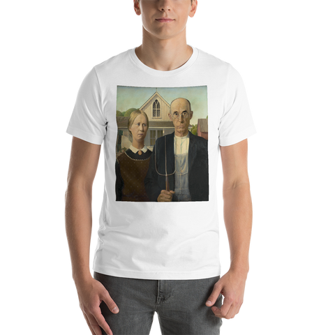 American-Gothic-Cotton-Art-Tee-For-Men