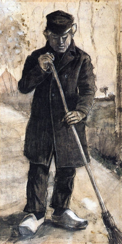 A Man with a Broom, 1881