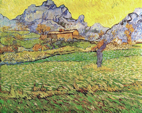 A Meadow in the Mountains - Le Mas de Saint-Paul, 1889