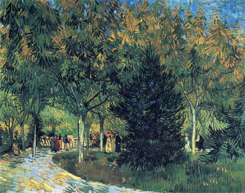 Avenue in the Park, 1888