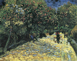 Avenue with Flowering Chestnut Trees at Arles, 1889