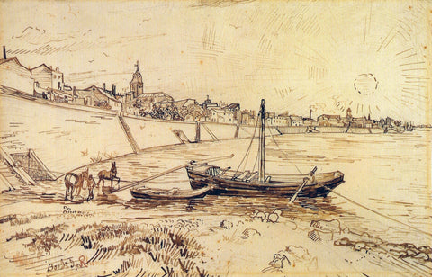 Bank of the Rhone at Arles, 1888