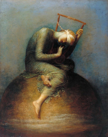 assistants and George Frederic Watts - Hope, Tate Britain