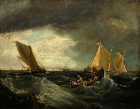 Augustus Wall Callcott - Sheerness and the Isle of Sheppey (after JMW Turner), Tate Britain