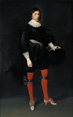 Daniel Mytens the Elder - Portrait of James Hamilton, Earl of Arran, Later 3rd Marquis and 1st Duke of Hamilton, Aged 17, Tate Britain