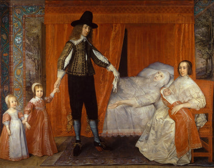 David Des Granges - The Saltonstall Family, Tate Britain