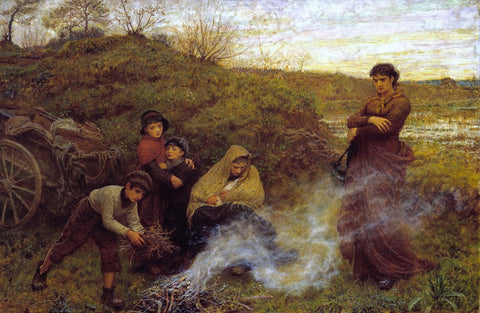 Frederick Walker - The Vagrants, Tate Britain