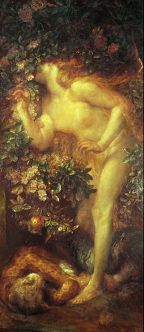 George Frederic Watts - Eve Tempted, Tate Britain