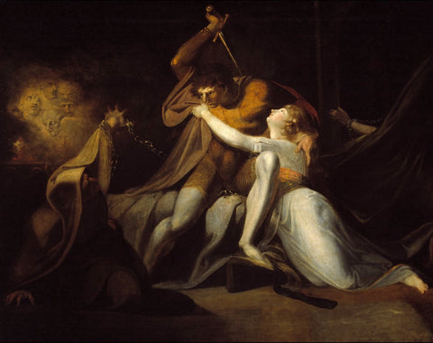 Henry Fuseli - Percival Delivering Belisane from the Enchantment of Urma, Tate Britain