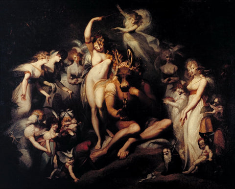 Henry Fuseli - Titania and Bottom, Tate Britain