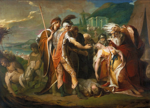 James Barry - King Lear Weeping over the Dead Body of Cordelia, Tate Britain