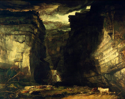 James Ward - Gordale Scar (A View of Gordale, in the Manor of East Malham in Craven, Yorkshire, the Property of Lord Ribblesdale), Tate Britain