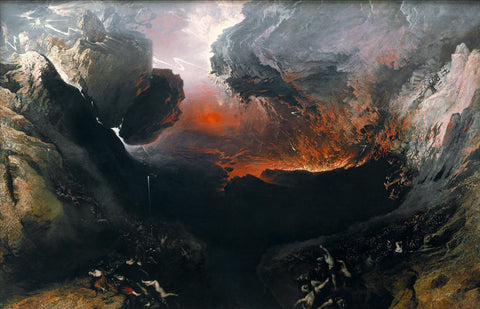 John Martin - The Great Day of His Wrath, Tate Britain