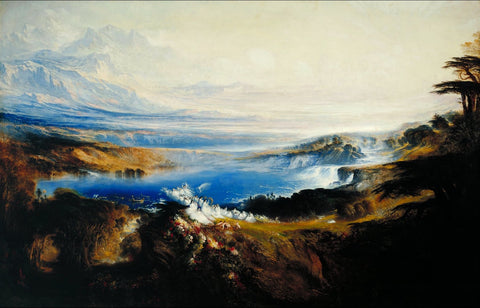 John Martin - The Plains of Heaven, Tate Britain
