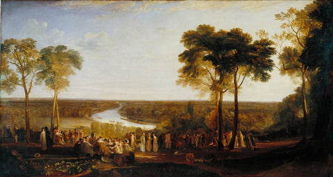 Joseph Mallord William Turner - England Richmond Hill, on the Prince Regent's Birthday, Tate Britain