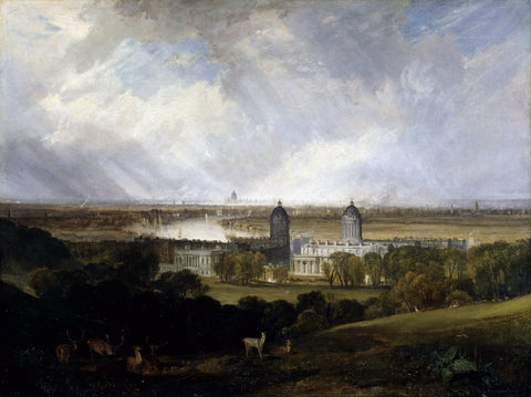 Joseph Mallord William Turner - London from Greenwich Park exhibited, Tate Britain