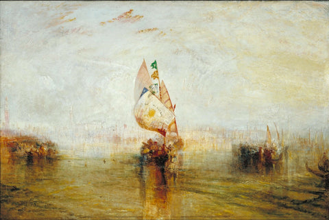 Joseph Mallord William Turner - The Sun of Venice Going to Sea, Tate Britain