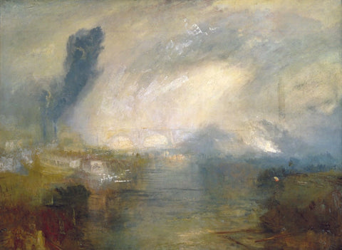 Joseph Mallord William Turner - The Thames above Waterloo Bridge, Tate Britain