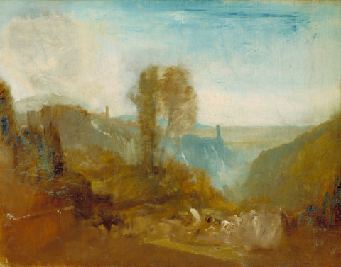 Joseph Mallord William Turner - Tivoli, the Cascatelle, Tate Britain
