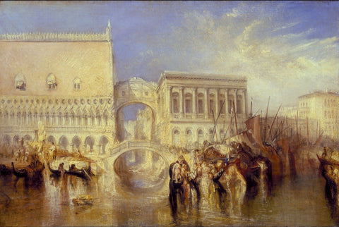 Joseph Mallord William Turner - Venice, the Bridge of Sighs, Tate Britain