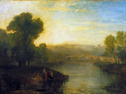 Joseph Mallord William Turner - View of Richmond Hill and Bridge, Tate Britain