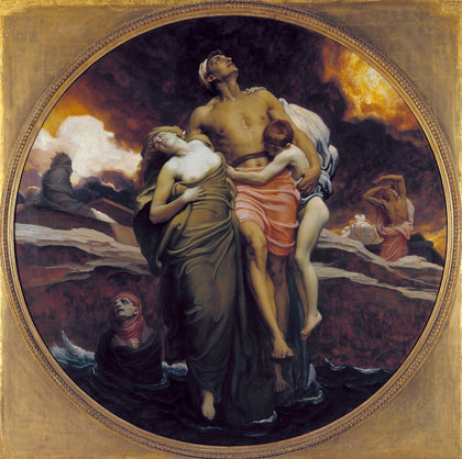 Lord Leighton Frederic - And the Sea Gave Up the Dead Which Were in It, Tate Britain