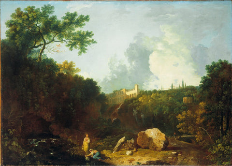 Richard Wilson - Distant View of Maecenas Villa, Tivoli, Tate Britain