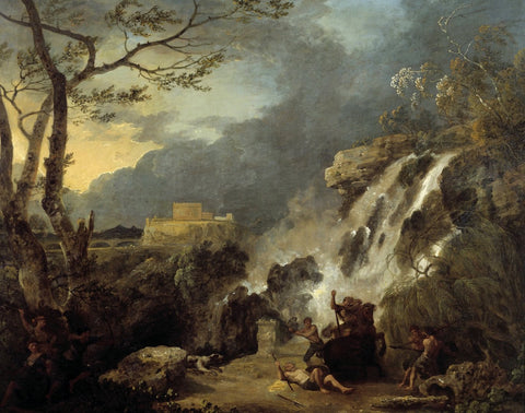 Richard Wilson - Meleager and Atalanta, Tate Britain