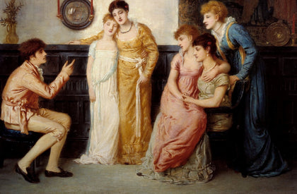 Simeon Solomon - A Youth Relating Tales to Ladies, Tate Britain