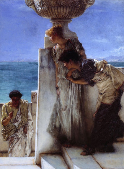 Sir Lawrence Alma-Tadema - A Foregone Conclusion