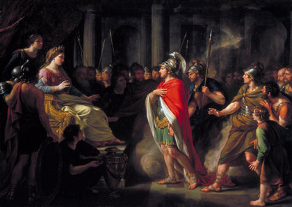 Sir Nathaniel Dance-Holland - The Meeting of Dido and Aeneas, Tate Britain