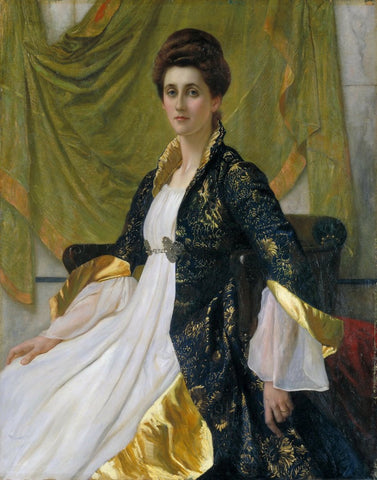 Sir William Blake Richmond - Portrait of Mrs Ernest Moon, Tate Britain