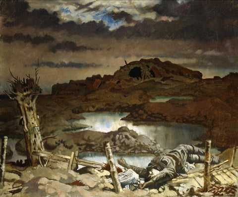 Sir William Orpen - Zonnebeke, Tate Britain