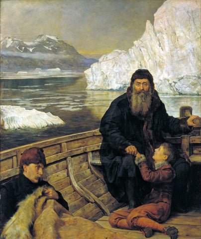 The Hon John Collier - The Last Voyage of Henry Hudson, Tate Britain