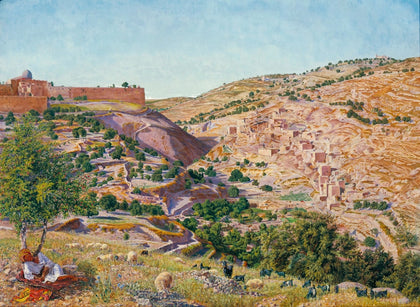 Thomas Seddon - Jerusalem and the Valley of Jehoshaphat from the Hill of Evil Counsel, Tate Britain