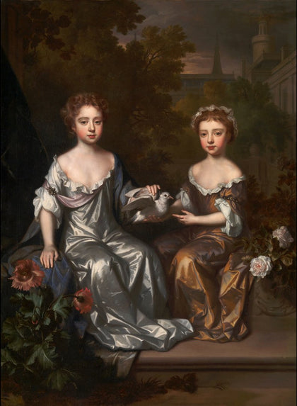 Willem Wissing - Portrait of Henrietta and Mary Hyde, Tate Britain