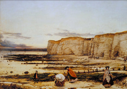 William Dyce - Pegwell Bay, Kent - a Recollection of October 5th 1858, Tate Britain