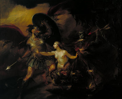 William Hogarth - Satan, Sin and Death (A Scene from Milton's «Paradise Lost»), Tate Britain