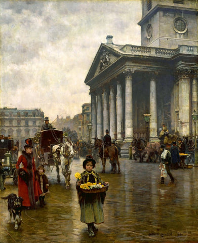William Logsdail - St Martin-in-the-Fields, Tate Britain