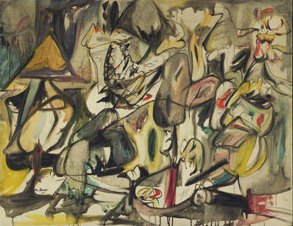 Arshile Gorky - The Leaf of the Artichoke Is an Owl