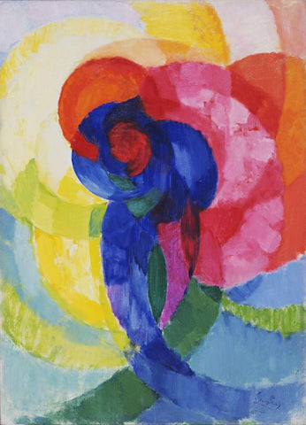 Frantisek Kupka - Red and Blue Disks
