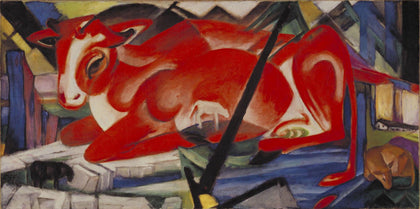 Franz Marc - The World Cow