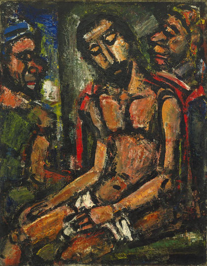Georges Rouault - Christ Mocked by Soldiers