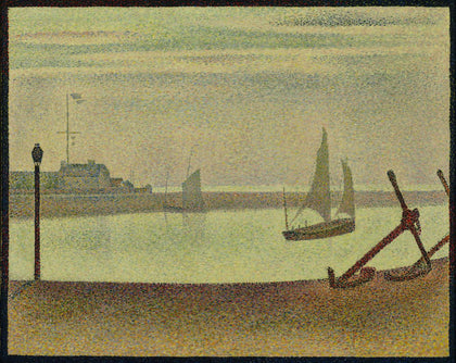 Georges-Pierre Seurat - The Channel at Gravelines, Evening