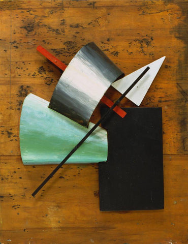 Jean Pougny - Suprematist Relief-Sculpture