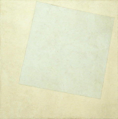 Kazimir Malevich - Suprematist Composition White on White