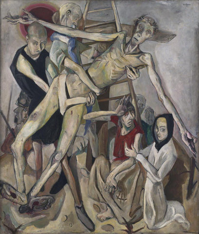 Max Beckmann - The Descent from the Cross