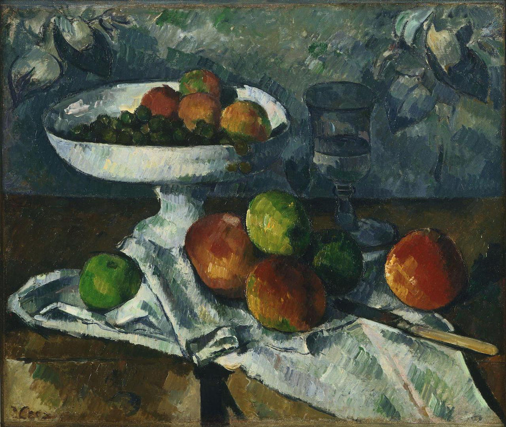 Paul Cézanne - Still Life with Fruit Dish