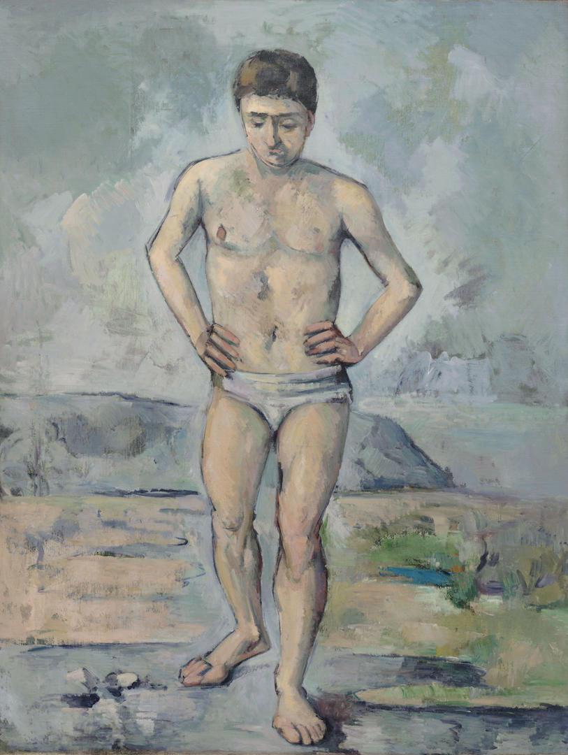 Paul Cézanne - The Bather